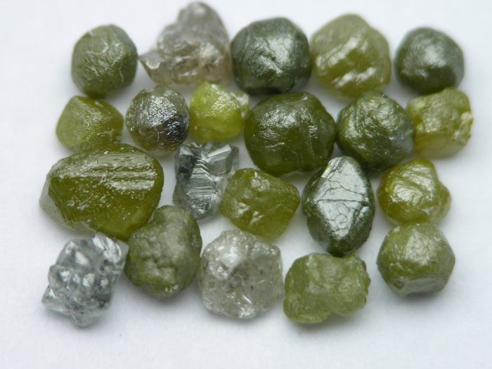 Rough Diamonds Raw Uncut Natural Stones Diamond Lot