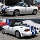 Mazda Miata 8 Inch Racing Rally Stripes