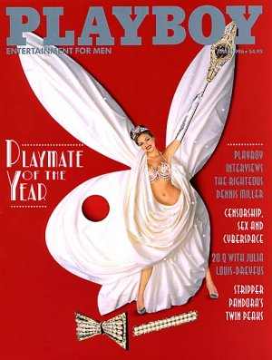 Playboy Magazine June 1996 Pandora Peaks