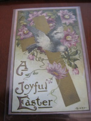 Lot of 8 Vintage Easter Postcard-Turn of The Century