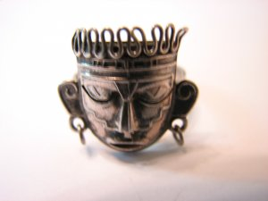 Old Taxco Sterling Mexican Silver Ring