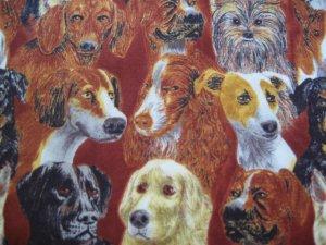 Dogs Animals Custom Made Medical Vet  Scrub Top
