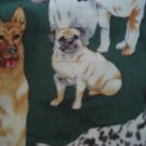 Dogs Animals Custom Made Scrub Top