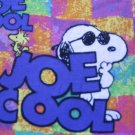 SNOOPY Joe Cool Custom Nurse Medical Scrubs Scrub Top