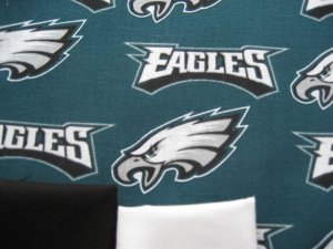 PHILADELPHIA EAGLES Football Custom Medical Scrubs Scrub Top