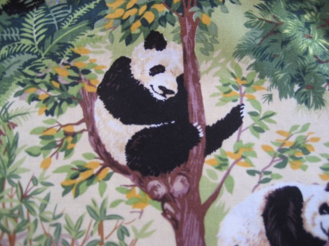 Panda Animal Custom Medical Nurse Scrub Top