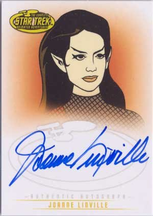 Star Trek Art & Images A34 Joanne Linville auto card