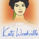 Star Trek Art & Images A37 Kate Woodville - Natira auto card