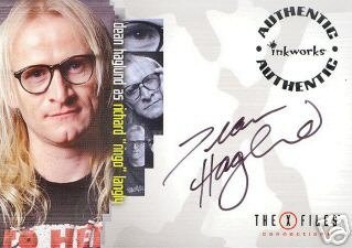X-Files Connections A9 Dean Haglund - Langly auto card