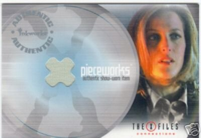X-Files Connections PW1 Gillian Anderson - Scully Pieceworks insert card