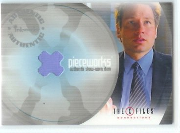X-Files Connections PW2 David Duchovny - Mulder Pieceworks insert card