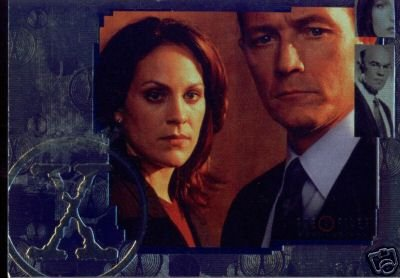X-Files Connections P-UK promo card