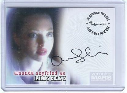 Veronica Mars season 1 A6 Amanda Seyfried - Lilly Kane auto card