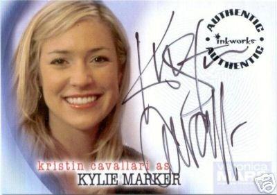 Veronica Mars season 2 A16 Kristin Cavallari - Kylie Marker auto card