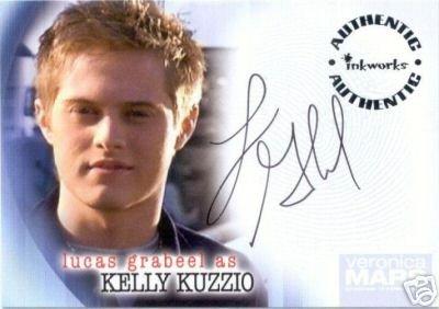 Veronica Mars season 2 A20 Lucas Grabeel - Kelly Kuzzio auto card