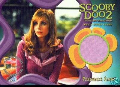 Scooby Doo 2 Monsters Unleashed PW11 Sarah Michelle Gellar - Daphne T-Shirt Pieceworks insert card