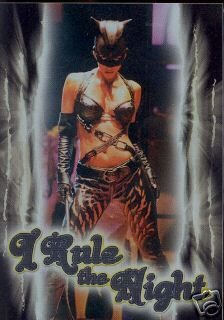 Catwoman movie Case Loader Topper insert card
