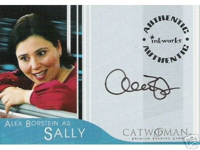 Catwoman movie A2 Alex Borstein - Sally auto card