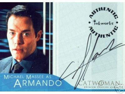 Catwoman movie A3 Michael Massee - Armando auto card