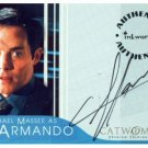 Catwoman movie A3 Michael Massee - Armando auto card