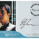 Catwoman movie A5 Byron Mann - Wesley auto card