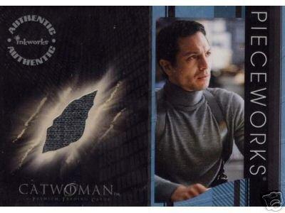 Catwoman movie PW5 Benjamin Bratt - Det. Tom Lone Sweater Pieceworks insert card