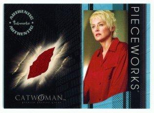 Catwoman movie PW6 Sharon Stone - Laurel Hedare Pajamas Pieceworks insert card