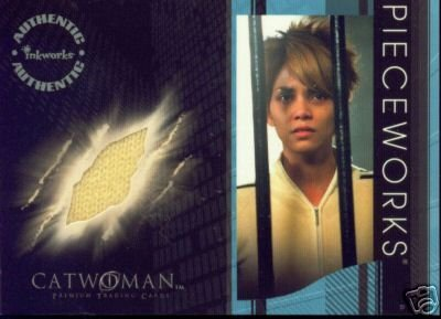 Catwoman movie PW7 Halle Berry - Patience Philips Jog Suit Top Pieceworks insert card