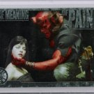 Hellboy movie CL1 Case Loader Topper insert card