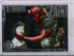Hellboy movie CL1 Case Loader Topper insert card