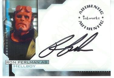 Hellboy movie A1 Ron Perlman - Hellboy auto card