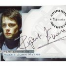 Hellboy movie A7 Rupert Evans - Agent John Myers auto card