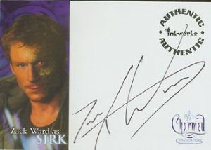 Charmed Conversations A9 Zack Ward - Sirk auto card