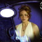 Charmed Conversations PWCC3 Rose McGowan Gown Pieceworks insert card