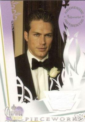 Charmed Destiny PW7 Jason Lewis - Dex Tuxedo Shirt Pieceworks insert card