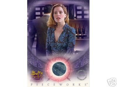 Buffy Women of Sunnydale WOS PW3 Emma Caulfield - Anya Dress Pieceworks insert card