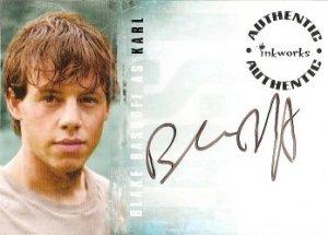 Lost season 3 A32 Blake Bashoff - Karl auto card