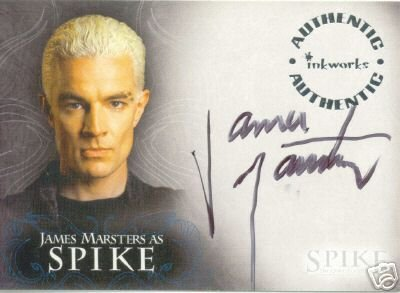 Spike the Complete Story A1 James Marsters - Spike auto card