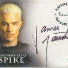 Spike the Complete Story A1 James Marsters - Spike auto card