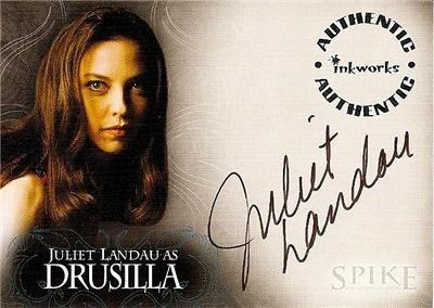 Spike the Complete Story A2 Juliet Landau - Drusilla auto card