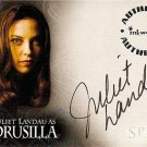 Spike the Complete Story A2 Juliet Landau - Drusilla auto card