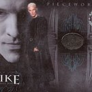 Spike the Complete Story PW1 James Marsters - Spike Leater Coat Pieceworks insert card