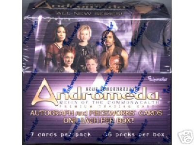 Andromeda Reign of the Commonwealth trading cards - Factory Sealed Box - 36 packs