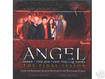 Angel season 5 trading cards - Factory Sealed Box - 36 packs
