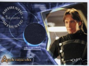 Andromeda Reign of the Commonwealth PW5 Kevin Sorbo - Dylan Hunt Leather Jacket Pieceworks card