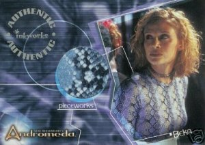 Andromeda Reign of the Commonwealth PW6 Lisa Ryder - Beka Valentine Top Pieceworks insert card