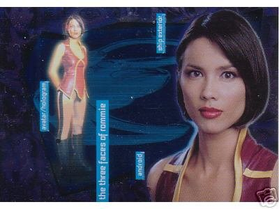 Andromeda Reign of the Commonwealth R1 Three Faces of Rommie insert card
