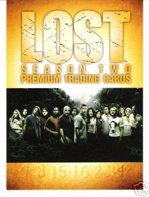Lost season 2 complete trading card set - 90 cards - #1-90 - mint condition