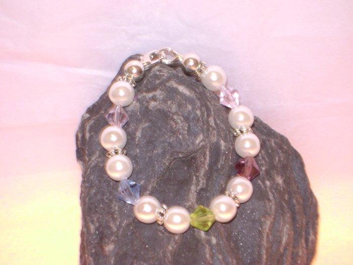 Pearls & Pastels Medical I.D. Alert Replacement Bracelet