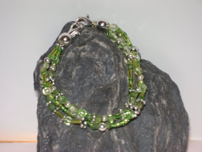 Green Triple strand Medical I.D. Alert Replacement Bracelet